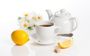 Lemon Tea wallpaper