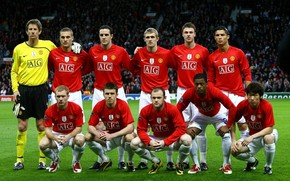 Manchester United Team wallpaper