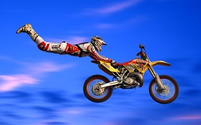 Moto Acrobatic Figure wallpaper
