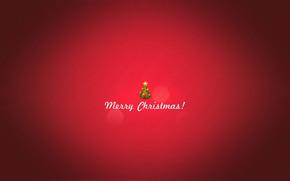 Minimal Merry Christmas