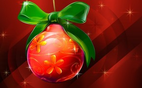 Christmas Single Globe