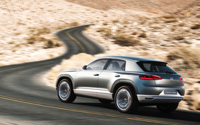 VW Cross Coupe Concept Rear wallpaper