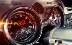 NFS The Run Gauges wallpaper