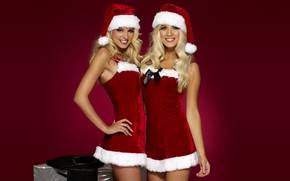 Happy Santa Girls