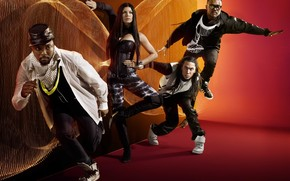 Black Eyed Peas Poster wallpaper