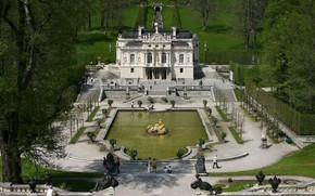 Linderhof Castle Bavaria wallpaper