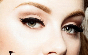 Adele Close Up Face wallpaper