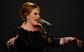 Adele Performing wallpaper