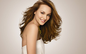 Leighton Meester Cute wallpaper