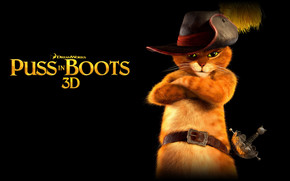 Puss in Boots 3D wallpaper