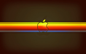 Apple Mix Colours wallpaper