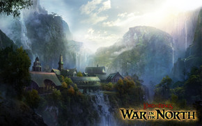 Rivendell War in the North wallpaper