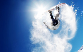 Extreme Snowboarding wallpaper
