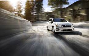 Subaru Impreza Speed wallpaper