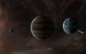 Space Planets Activity wallpaper
