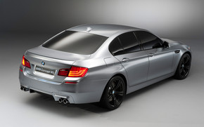 BMW M5 Concept 2012 Side and Rear