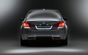 BMW M5 Concept 2012 Rear