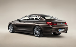 2013 BMW 6 Series Rear wallpaper