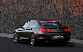 BMW 6 Gran Coupe Rear wallpaper