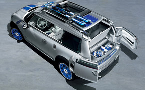 Mini Cooper Detroit Concept wallpaper