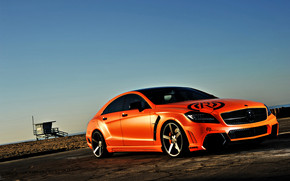Mercedes CLS 63 AMG Tuning wallpaper