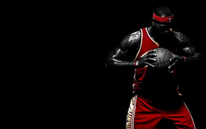 Lebron James Thinking wallpaper