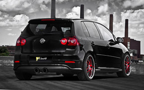 Schmidt VW Golf V GTI Rear wallpaper