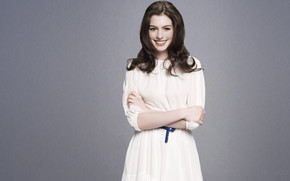 Cute Anne Hathaway wallpaper