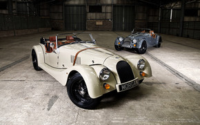 Two Morgan Roadster wallpaper