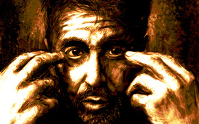 Al Pacino Drawing wallpaper