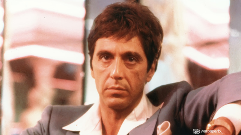 Al Pacino Scarface Hd Wallpaper Wallpaperfx
