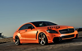 Tuned Mercedes CLS wallpaper