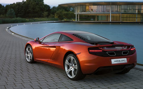 McLaren MP4 12C Rear wallpaper