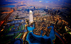 Dubai Sky View wallpaper