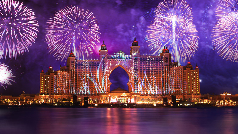 atlantis the palm hotel hd wallpaper wallpaperfx