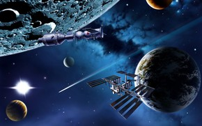 Space Mission Activity wallpaper