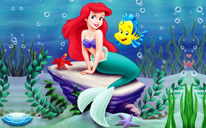 Little Mermaid Ariel wallpaper
