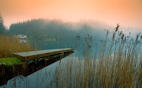 Lake Pontoon Bridge