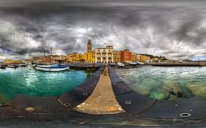 HDR City Port