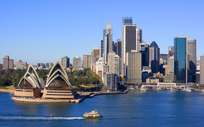 Sydney Landscape wallpaper