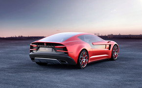 Italdesign Giugiaro Brivido Rear 2012 wallpaper