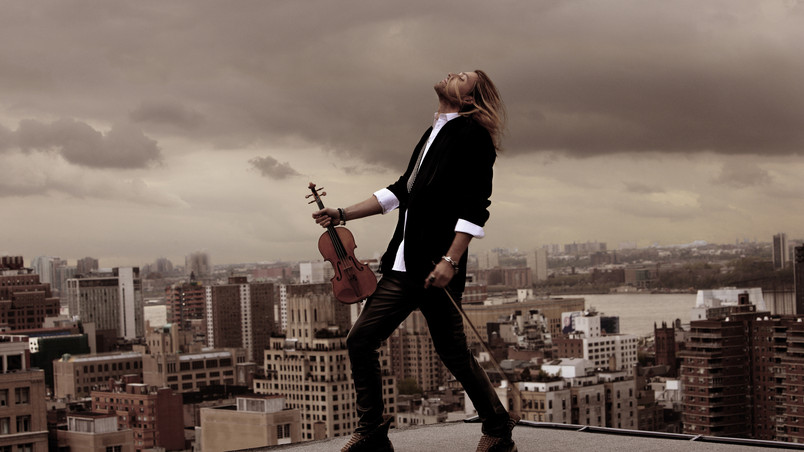 David Garrett Violin HD Wallpaper - WallpaperFX