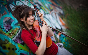 Lindsey Stirling Violin wallpaper