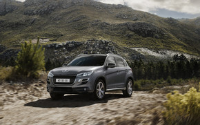 Beautiful Peugeot 4008 4x4 wallpaper