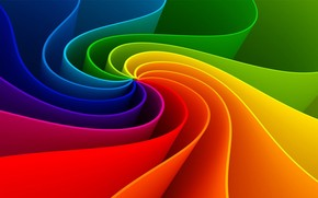 Amazing Abstract Rainbow
