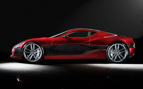 Rimac Concept One Side View