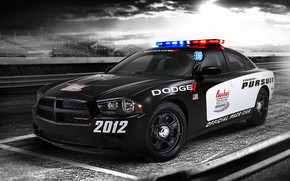 Dodge Charger Police wallpaper