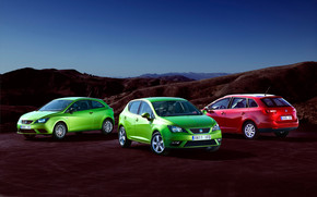 2013 Seat Ibiza Family wallpaper