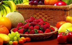 Amazing Fruits wallpaper