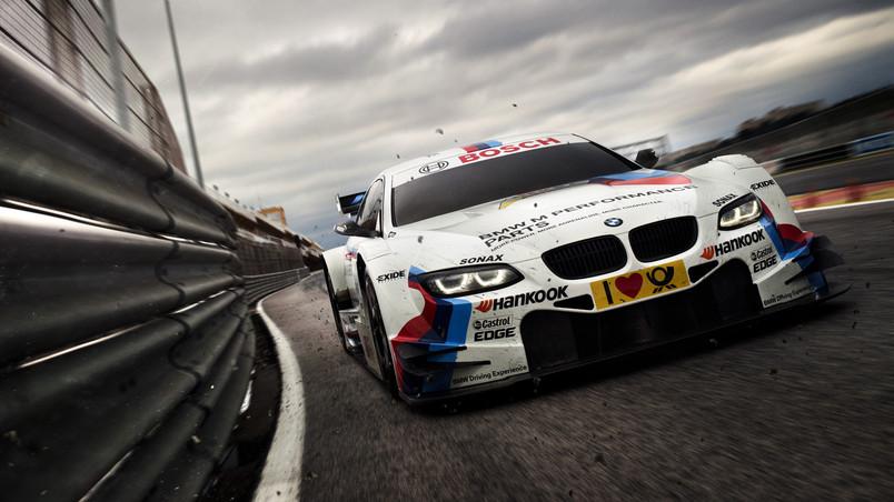 Bmw Racing Car Hd Wallpaper Wallpaperfx